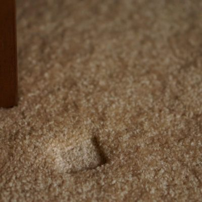 furniture dent in carpet