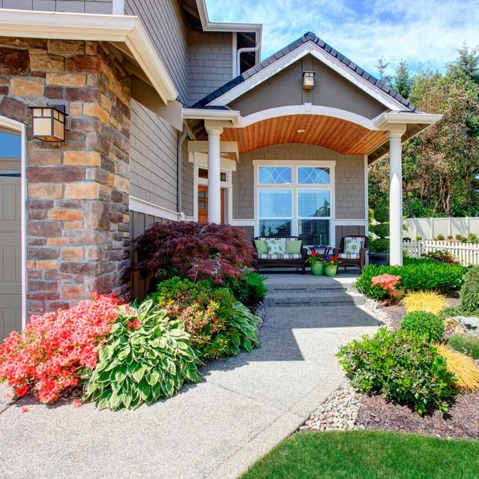 Flower Bed Ideas For The Front Of Your House Family Handyman