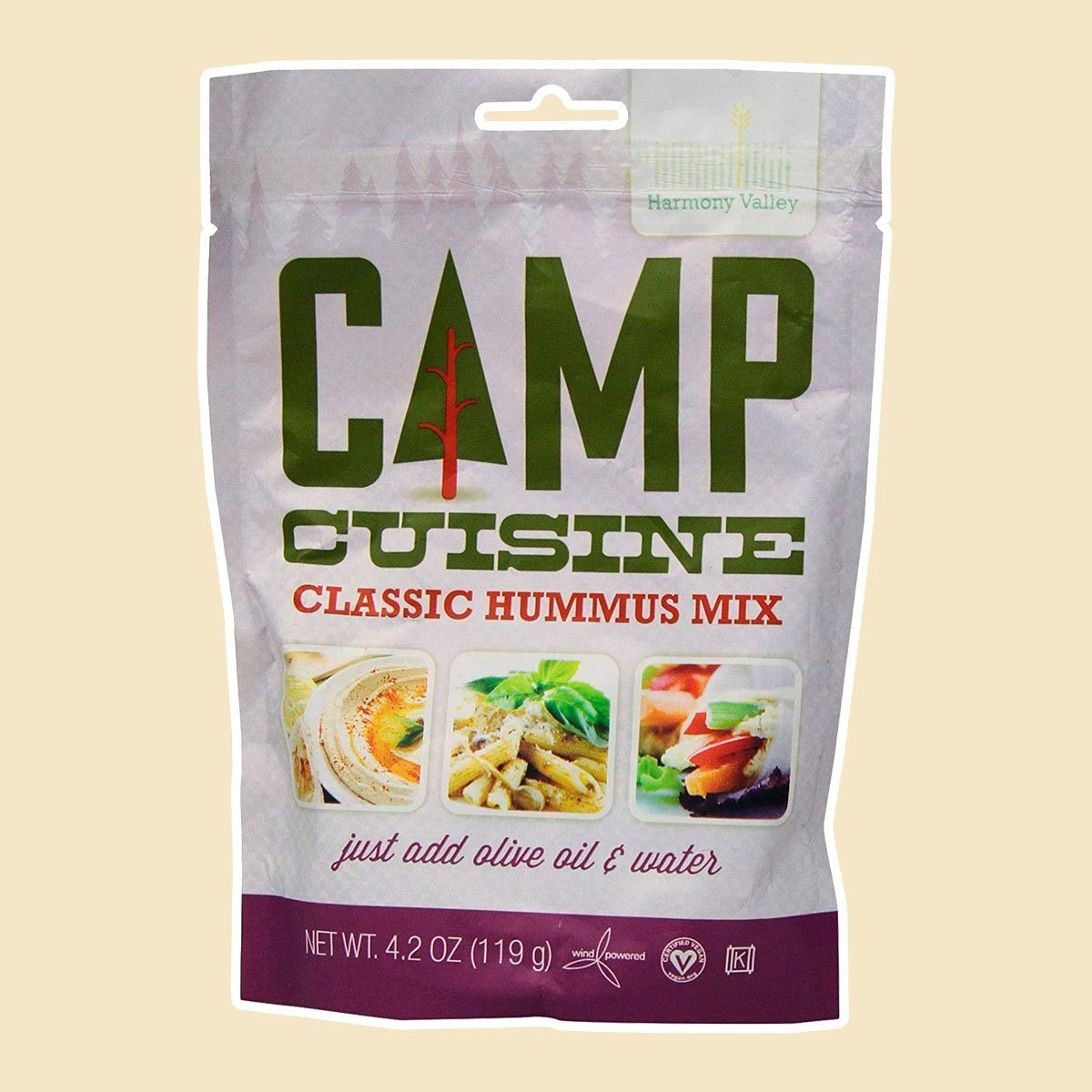 Harmony Valley Camp Cuisine Classic Hummus Mix