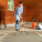 Garage Floor Resurfacing: Fix a Pitted Garage Floor