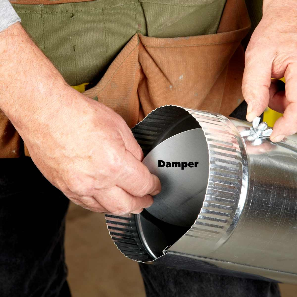 Round Ductwork Installation Tips | Family Handyman