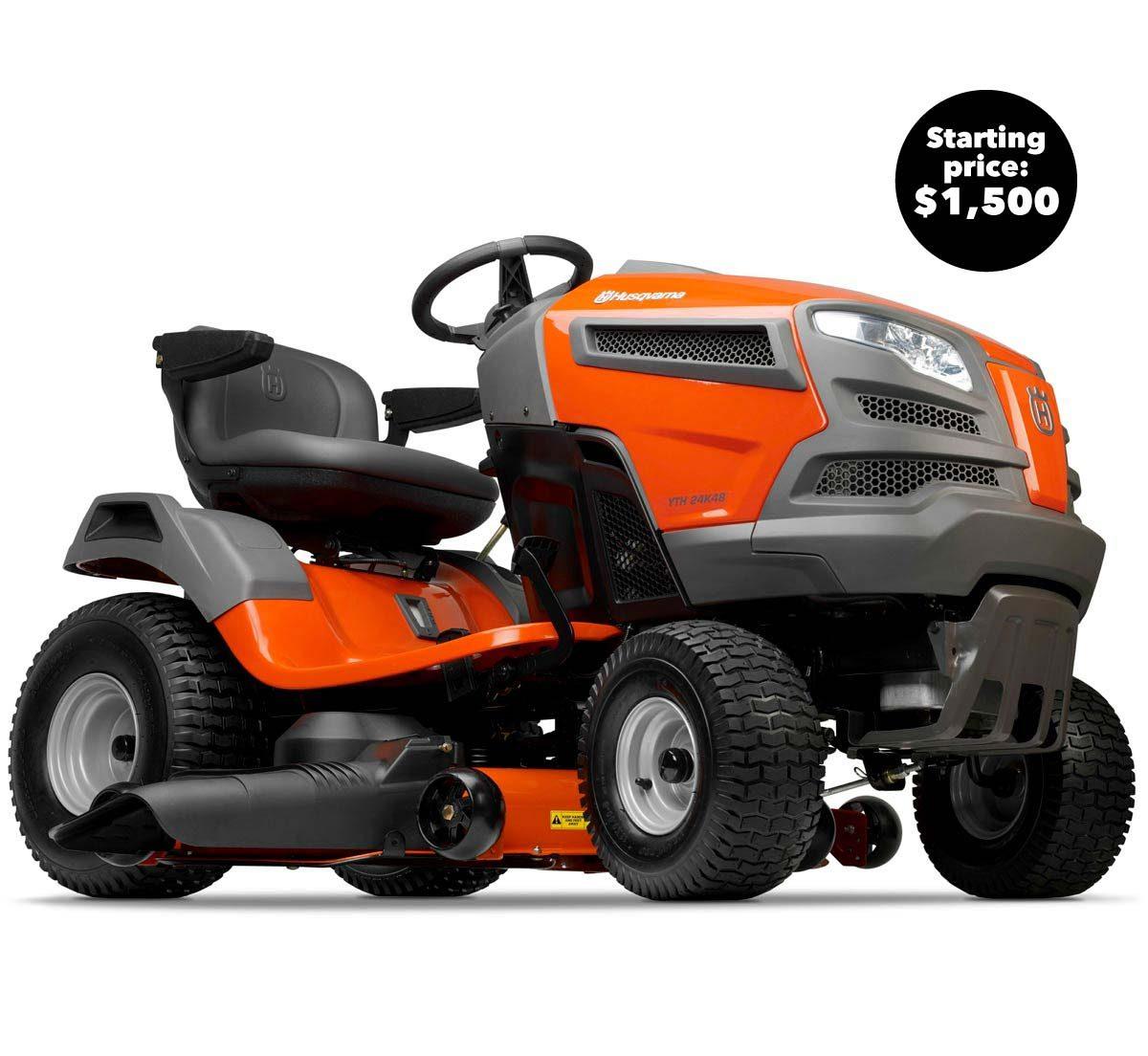 husqavarna lawn tractor