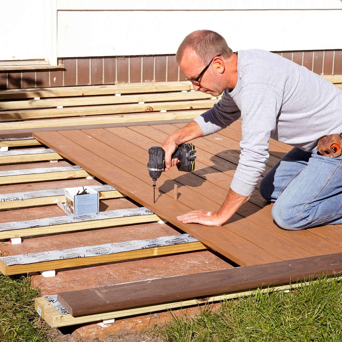 lay decking