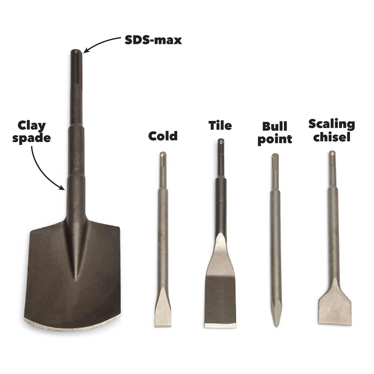 rotary vs hammer drill bits