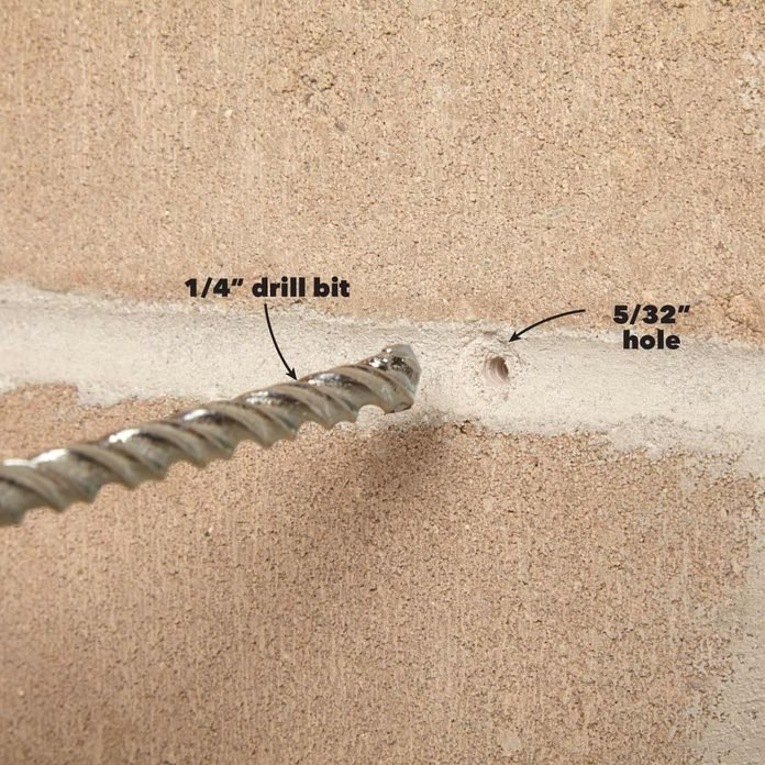 rotary vs. hammer drill smaller hole first