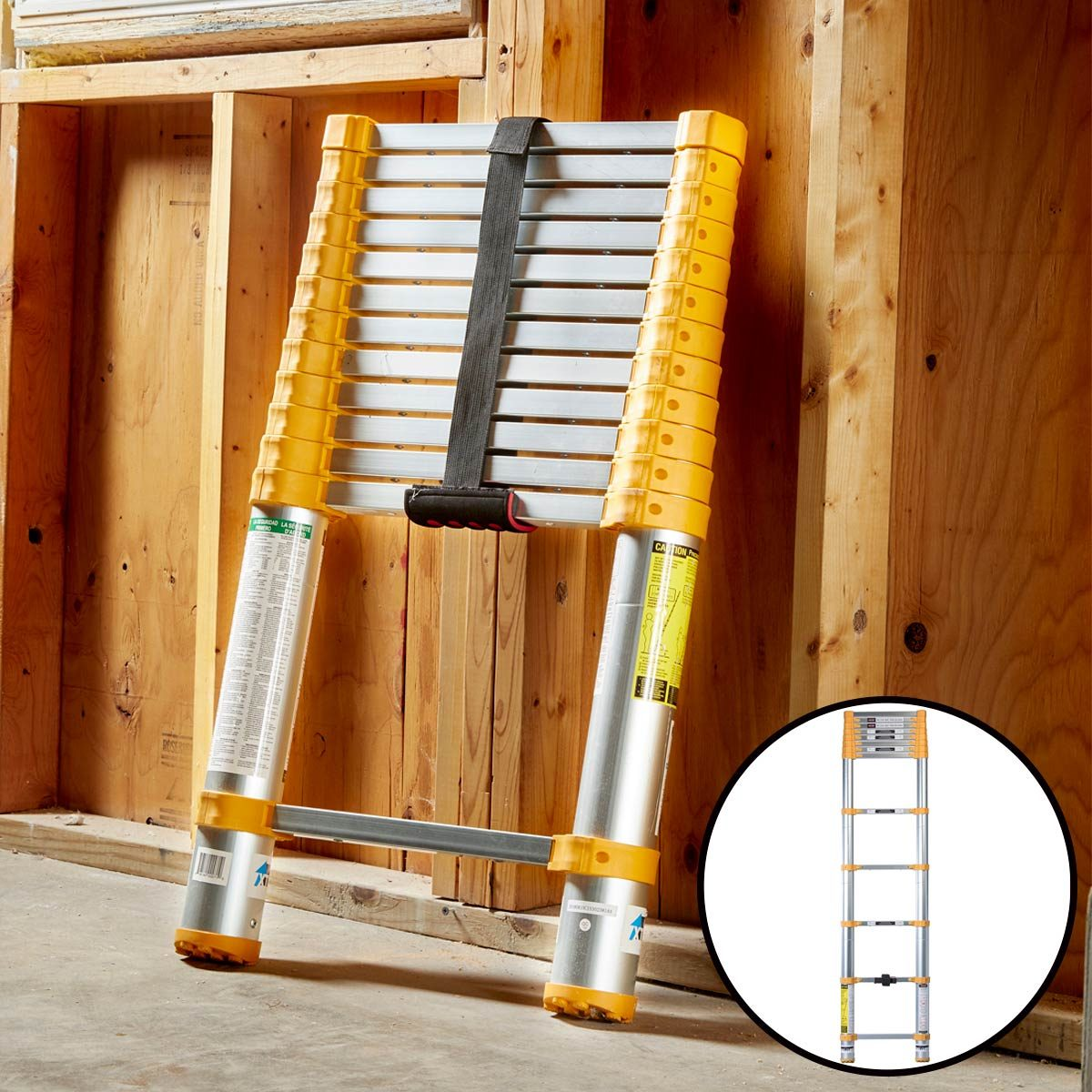 stuff we love xtend + climb 770p telescoping ladder