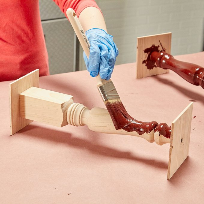 HH painting table legs