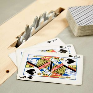 Workshop Trick with Playing Cards