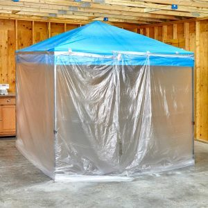 Easy (and Roomy!) DIY Paint Booth