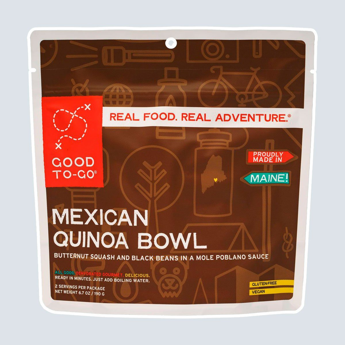 Good To Go Mexican Quinoa Bowl