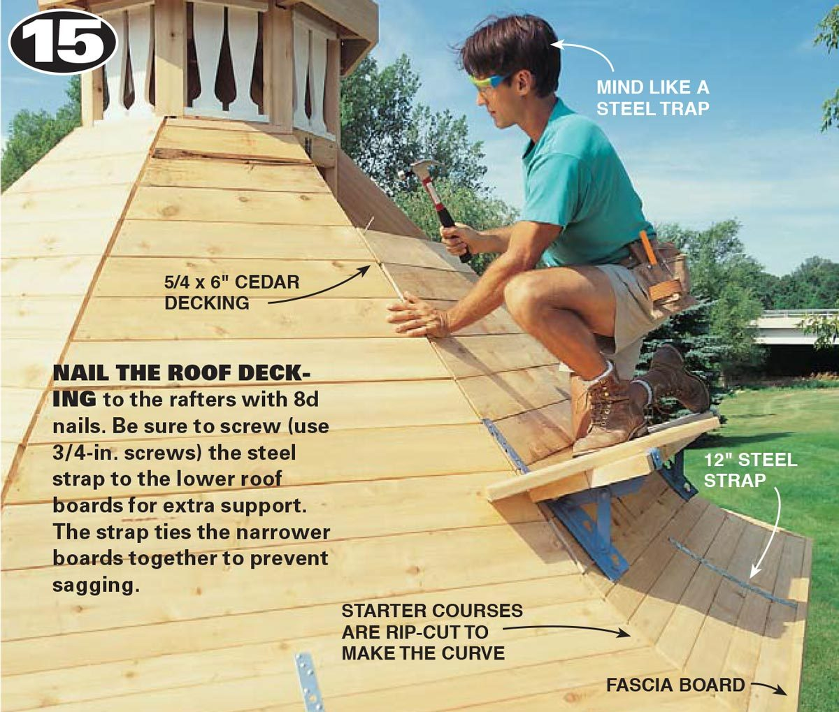 step 15 build a gazebo