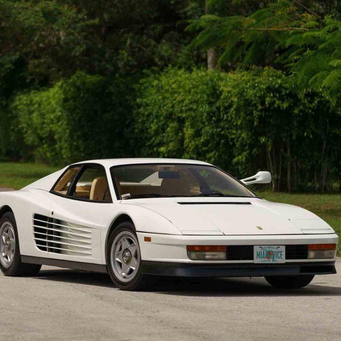 'Miami Vice' 1986 Ferrari Testarossa car