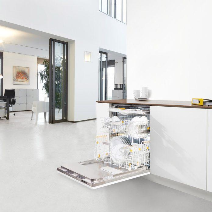 Miele dishwasher in a modern home