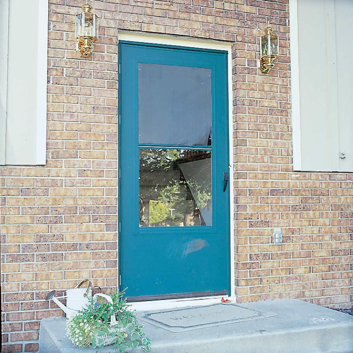 Old-dirty-exterior-door