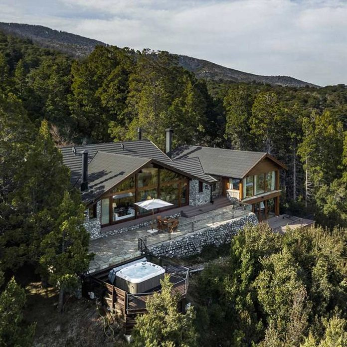 Mansion in wooded area of Argentina