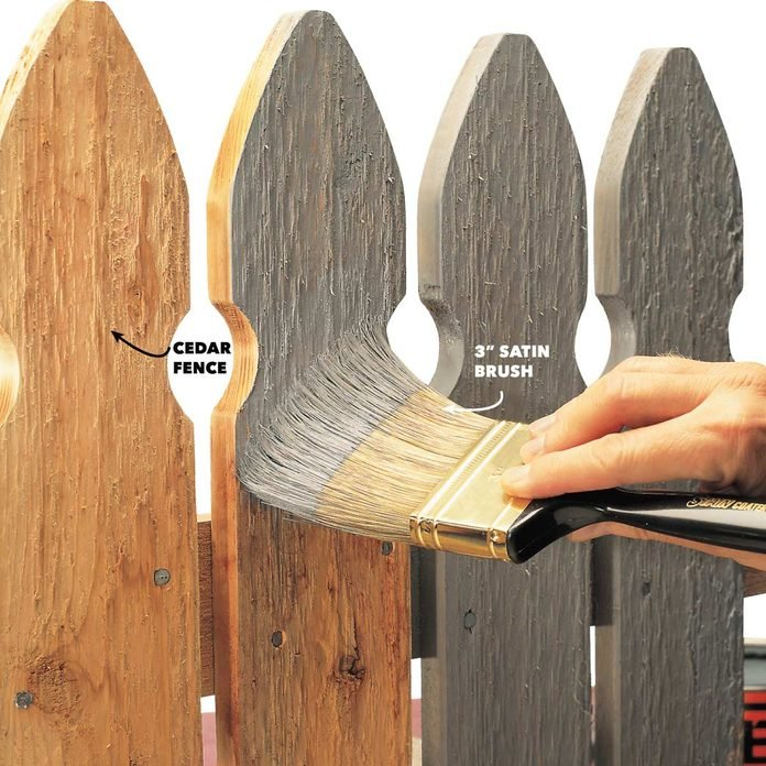 Painting-a-cedar-wood-fence