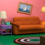 Recreate The Simpsons Living Room at Your House with IKEA