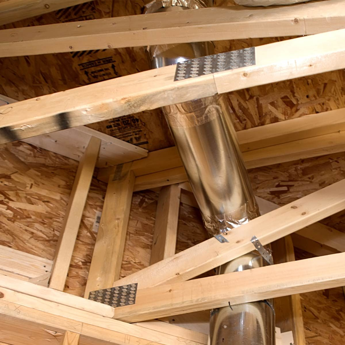 Round Ductwork Installation Tips Family Handyman