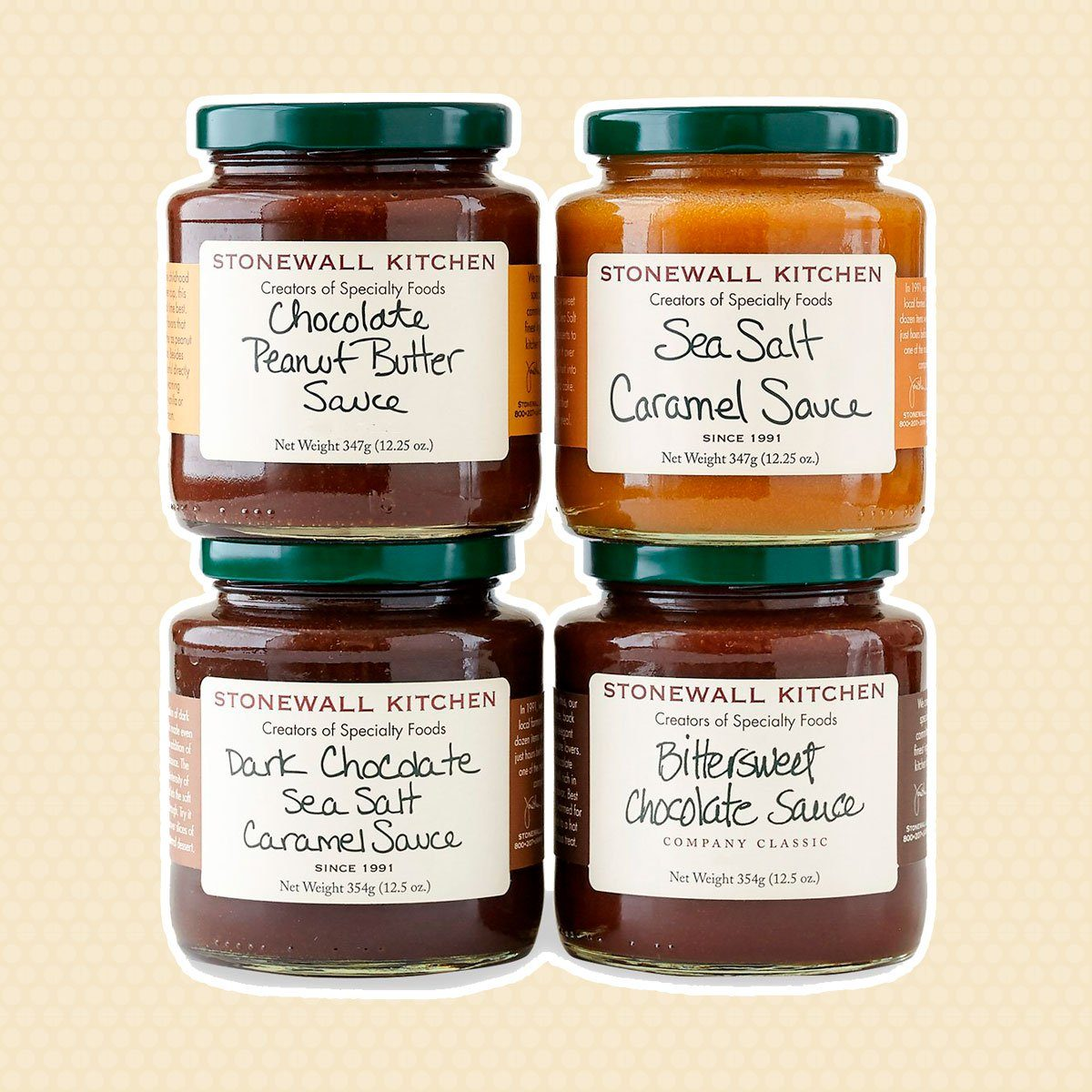Stonewall Kitchen Dessert Topping Collection