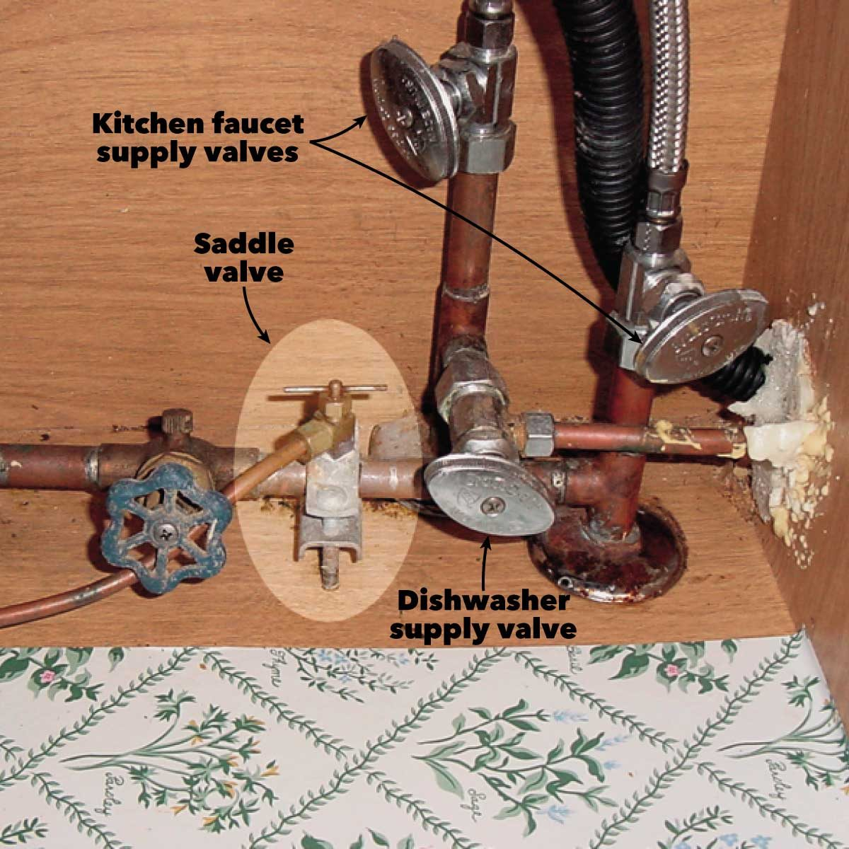 supply valves