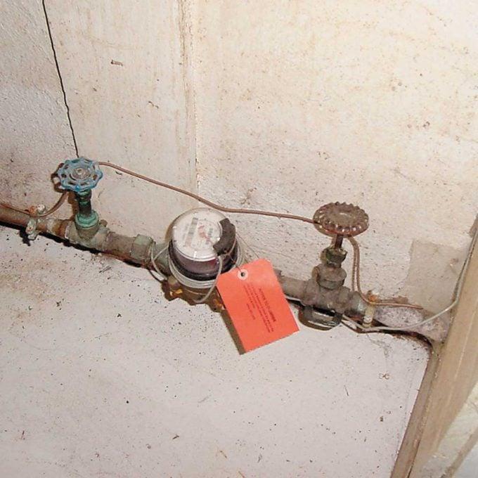 Water shutoff valves