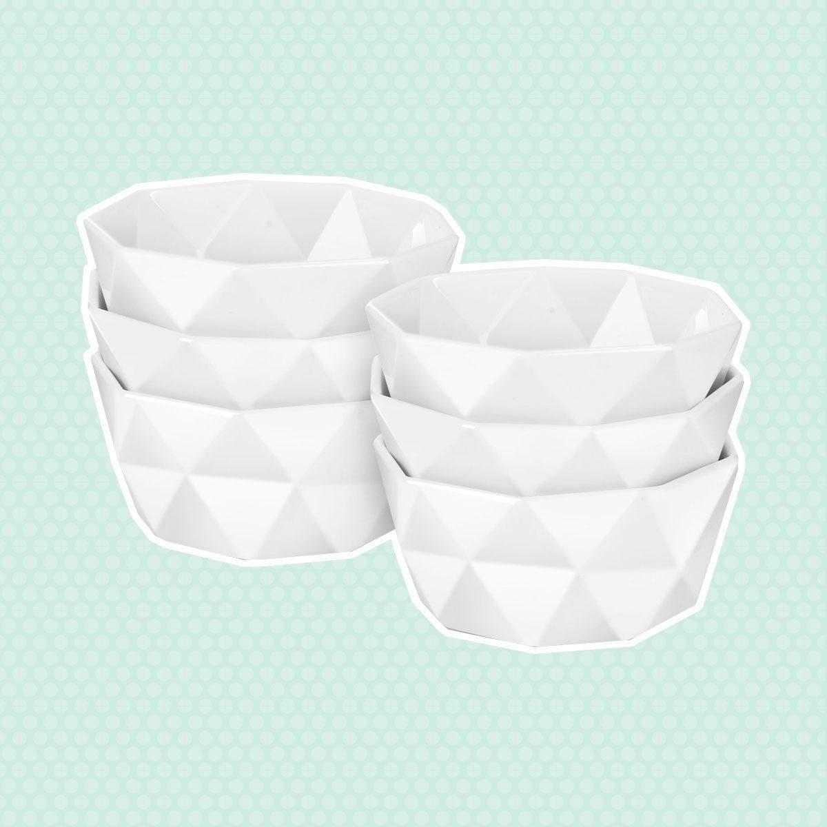 Delling Geometric Porcelain Bowls