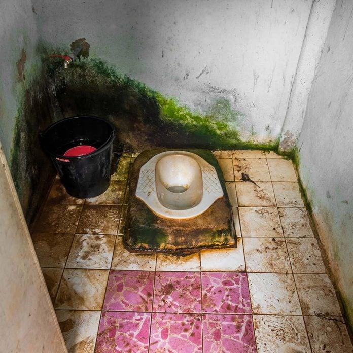 Dirty-squat-toilet