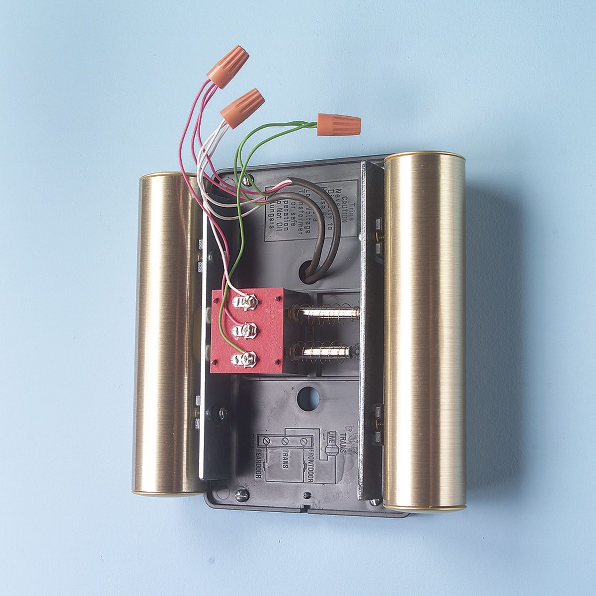 wire a doorbell
