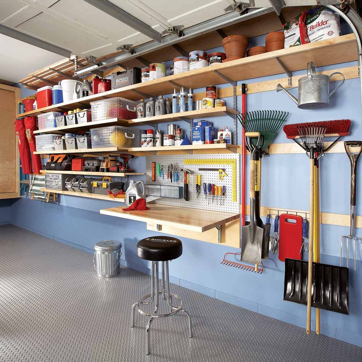 51 Brilliant Ways To Organize Your Garage Family Handyman