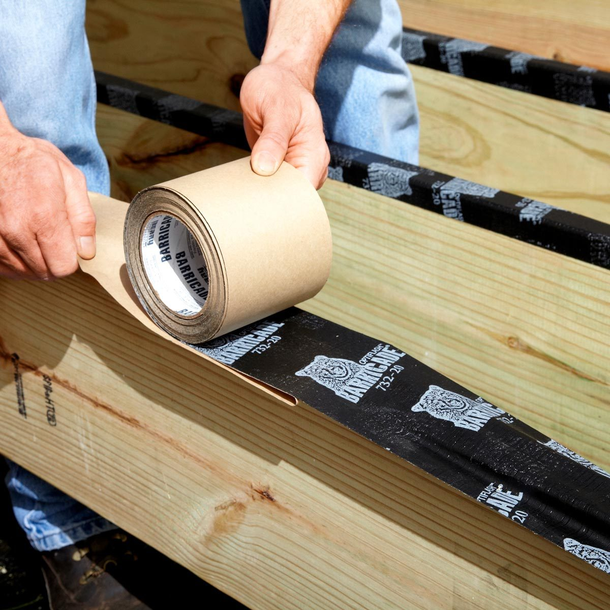 protect joists from rot
