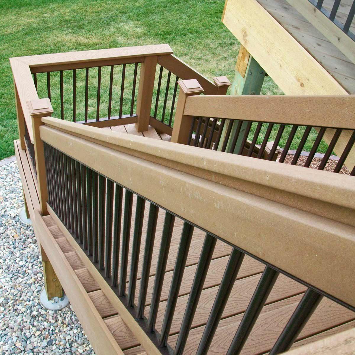 Deck/railing material options