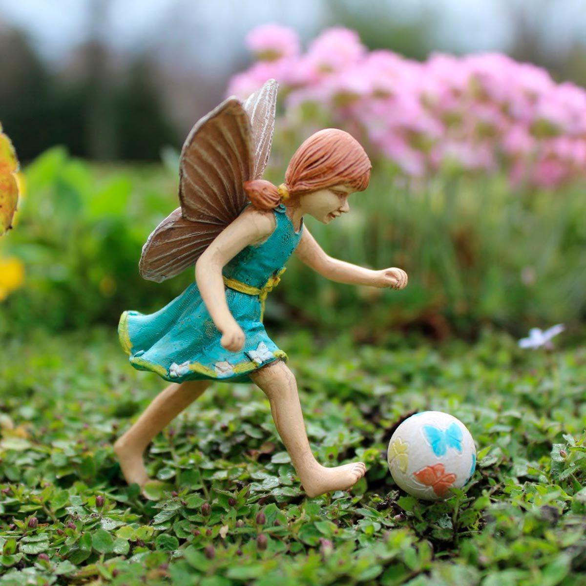 Miniature Figurine FAIRY GARDEN ~ Sweet Little Fairy Girl Sleeping ~ NEW