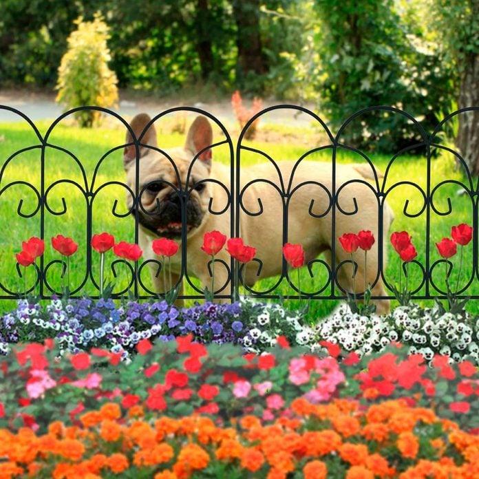 Flower Garden Fencing