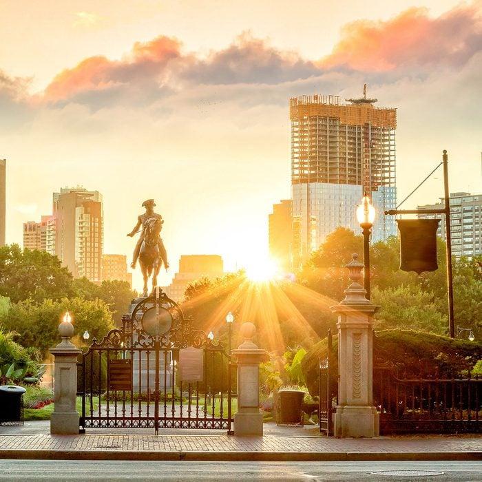 statue in boston, ma