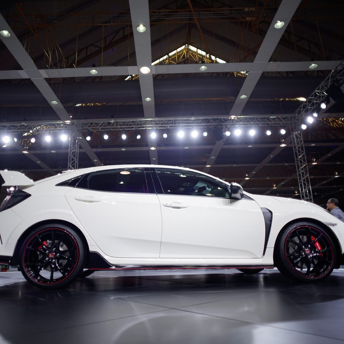 2017 : Honda Civic Type R, presented at the Malaysia Autoshow 2017 in Kuala Lumpur.