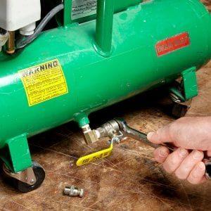 air compressor drain