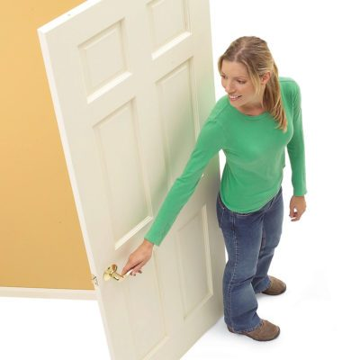 right hand swinging door