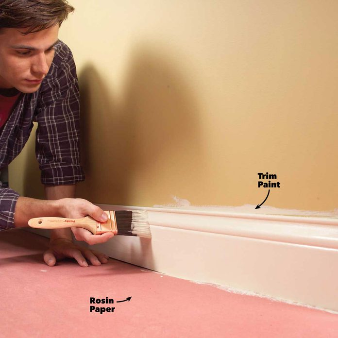 interior painting tips paint trim first