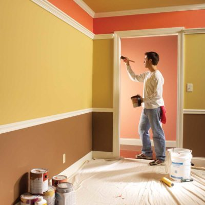 interior painting tips featured