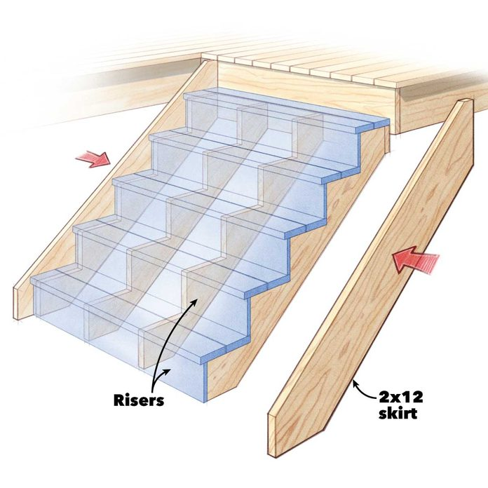 deck building tips build better stairs