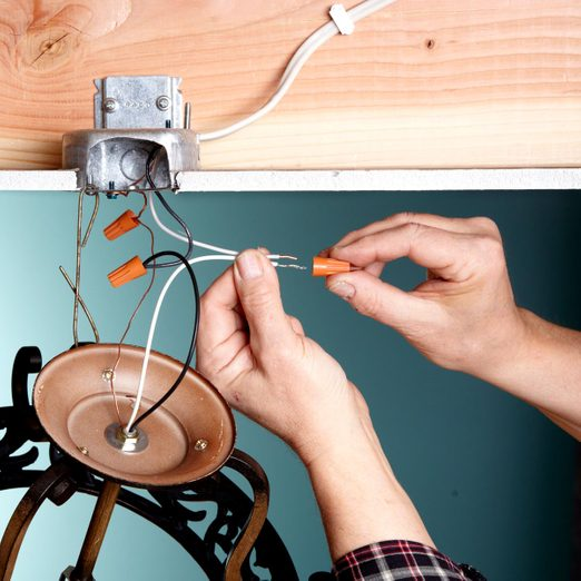 How To Replace A Light Fixture Diy, How To Connect A Ceiling Light Fitting