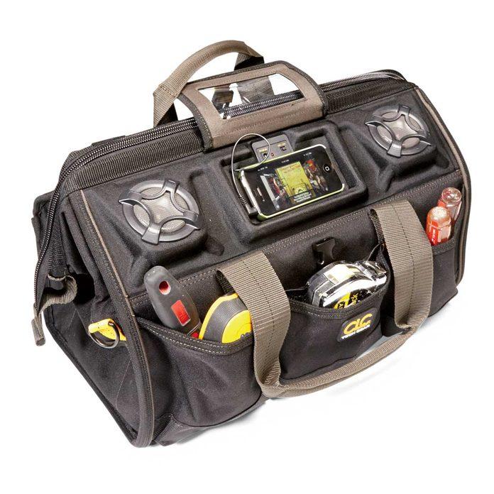 stuff we love CLC work gear speaker tool bag