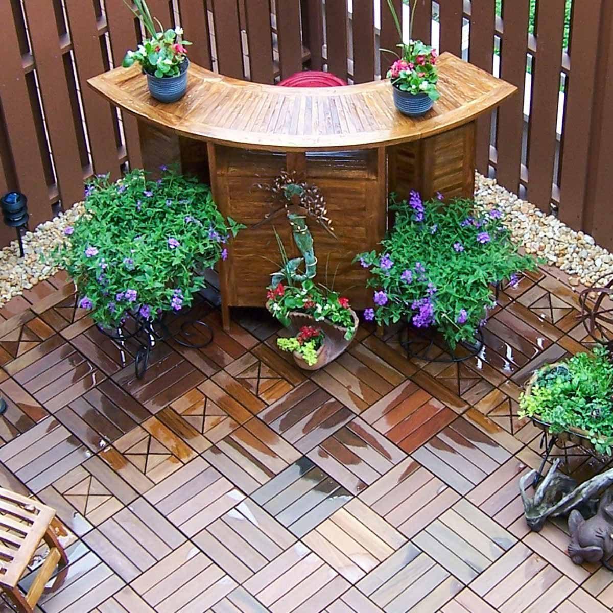 patio deck tiles