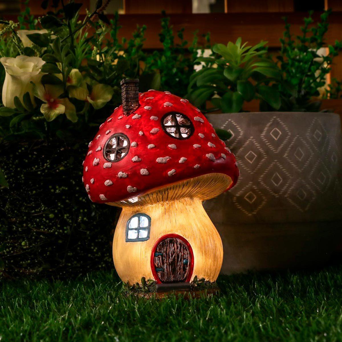Buy 3 Save $5 Miniature Fairy Garden Mushroom Pick