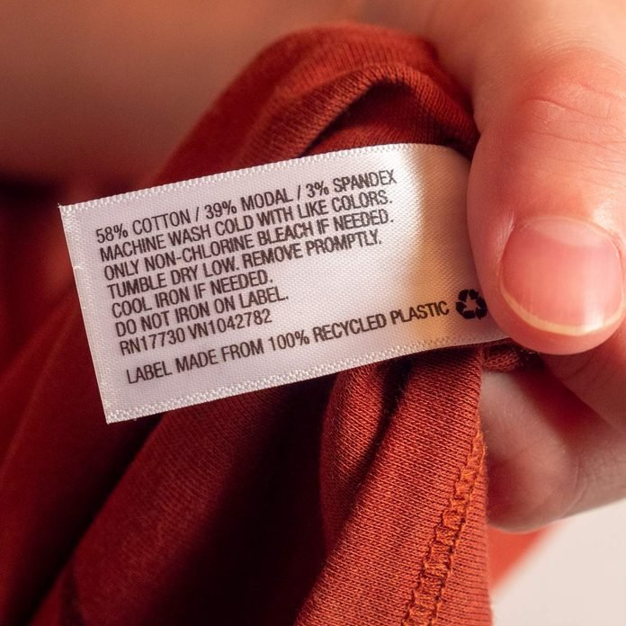 care tag instructions