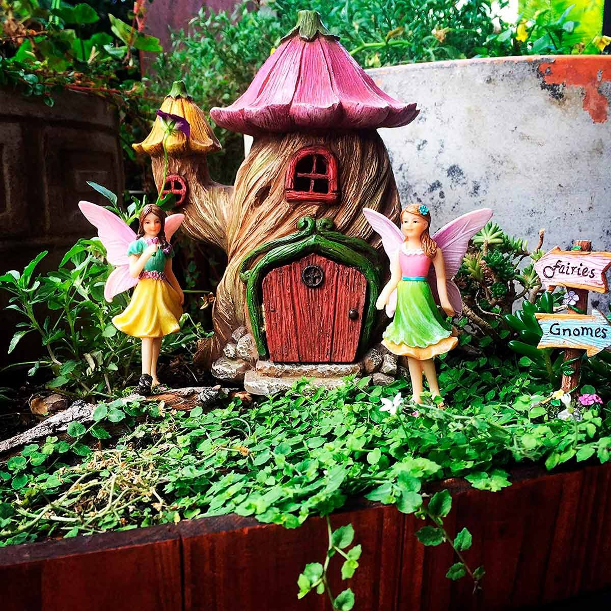 Perfect Fairy Garden Houses for Your Favorite Fairies