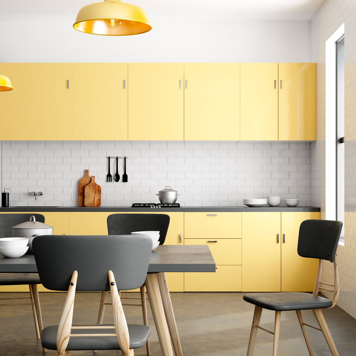 Kitchen Cabinet Paint Colors that Make a Splash | Family ... on