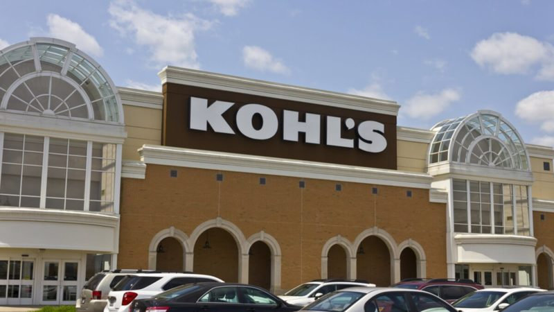 Kohl's Retail Store Location.