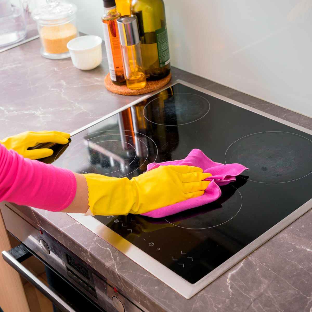 How To Clean A Gl Stove Top Family