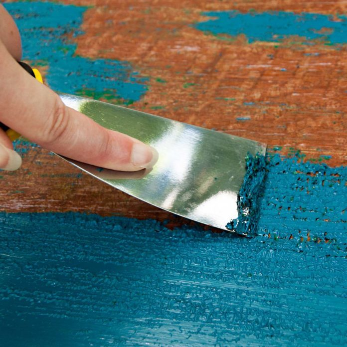 Paint Remover for Wood
